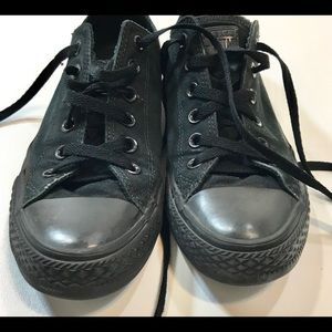 Converse Chuck Taylor All Star Black Low Top  7